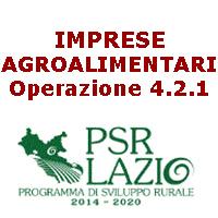 LAZIO.IMPRESE.AGROALIMENTARI.Operazione 4.2.1.PSR