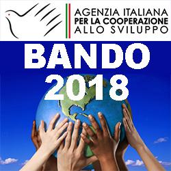 COOPERAZIONE ALLO SVILUPPO BANDO 2018