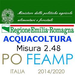 EMILIA ROMAGNA FEAMP MISURA 2.4.8 ACQUACOLTURA