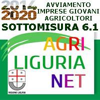 LIGURIA.PSR.GIOVANI.AGRICOLTORI Bando 6.1  ANNO 2018