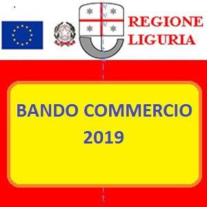 LIGURIA BANDO COMMERCIO 2019