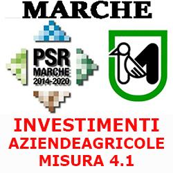 MARCHE INVESTIMENTI AZIENDE AGRICOLE  SOTTOMISURA PSR 4.1