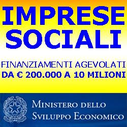 MISE IMPRESE SOCIALI 250