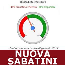 NUOVA SABATINI 2017  2018.DISPONIBILITà GENNAIO 2017