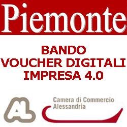 PIEMONTE ALESSANDRIA BANDO VOUCHER  DIGITALI IMPRESA 4.0