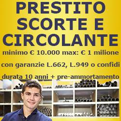 PRESTITO SCORTE E CIRCOLANTE 250X250