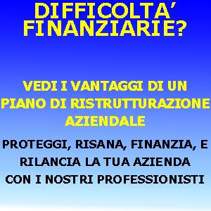 RISCHIO DI CRISI AZIENDALE 250 A