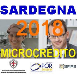 SARDEGNA MICROCREDITO 2018