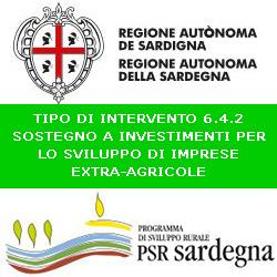 SARDEGNA SOSTEGNO INTERVENTI EXTRA  AGRICOLI PSR AZIONE 6.4.2