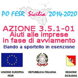 SICILIA AZIONE 3.5.1 01 DEL PO FESR 2014 2020