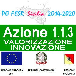 SICILIA PO FESR AZIONE 1.1.3