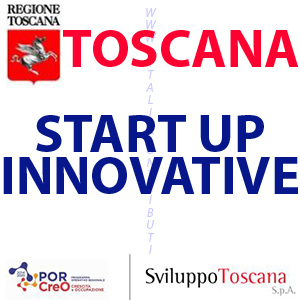TOSCANA START UP INNOVATIVE