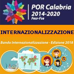 CALABRIA INTERNAZIONALIZZAZIONE BANDO 2018