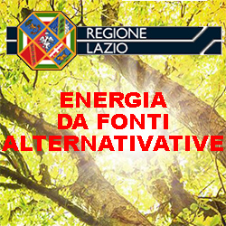 LAZIO ENERGIA DA FONTI ALTERNATIVE
