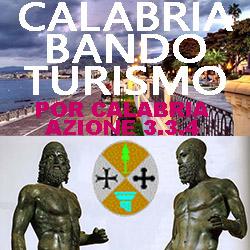POR CALABRIA AZIONE 3.3.4 BANDO TURISMO  2017