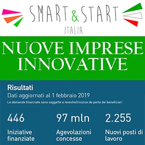 SMART START ITALIA INVITALIA NUOVE IMPRESE INNOVATIVE 2019