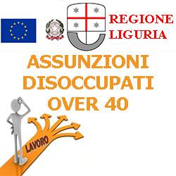 LIGURIA ASSUNZIONI DISOCCUPATI OVER 40