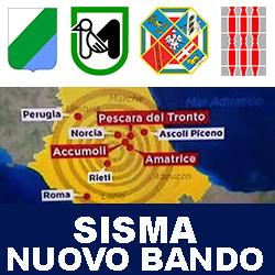 SISMA CENTRO ITALIA NUOVO BANDO 2018
