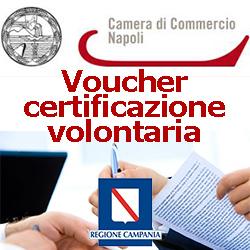 campania napoli  voucher certificazione volontaria