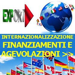 INTERNAZIONALIZZAZIONE FINANZIAMENTI E AGEVOLAZIONI 250