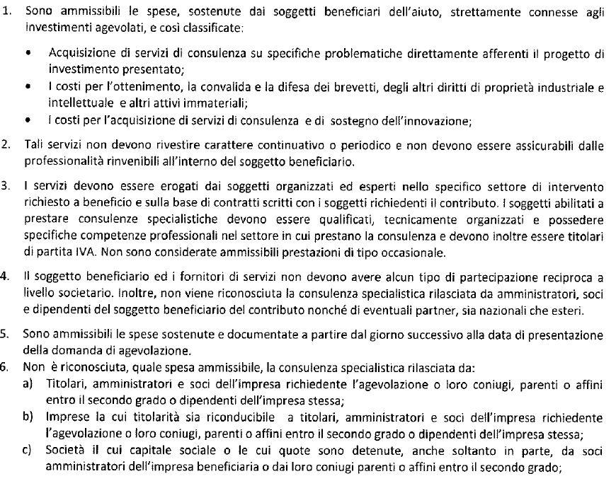 PUGLIA SPESE AMMISSIBILI 1
