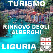 lIGURIA.TURISMO RINNOVO DEGLI ALBERGHI