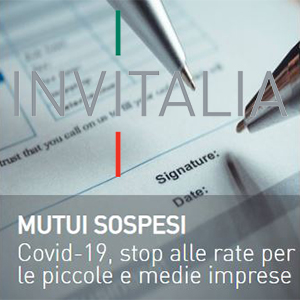 invitalia moratoria covid 19 sospensione rate mutui